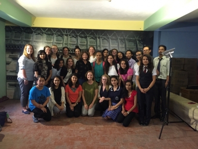 Group photo after our interview with Today's Youth Asia