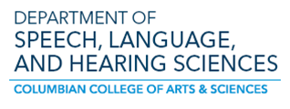 Department of Speech, Language, and Hearing Sciences