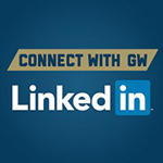 Connect with GW on LinkedIn Graphic.
