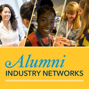 Alumni Industry Networks graphic.